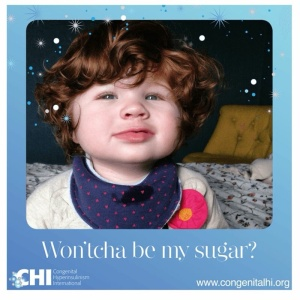 Raising awareness for this rare condition. Congenitalhi.org